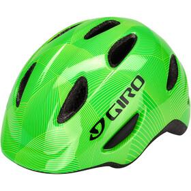 Giro Scamp Helmet Kids green/lime lines